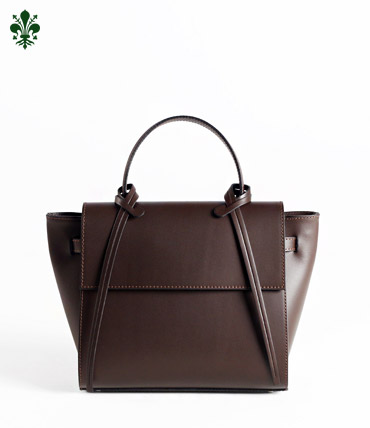 TOTUM . Q TOTE BAG (BROWN)